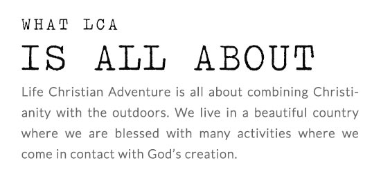 HOME LCA - LCA - Life Christian Adventure | Vanderbijpark - South Africa
